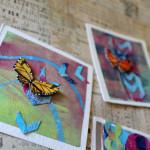 Melissa Peacock Gelli Butterfly 2 macro