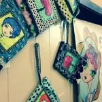 Wristlet handbags